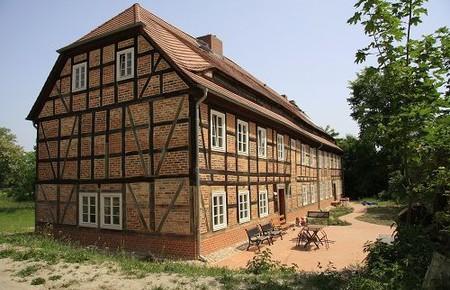 Landarbeiterhaus auf dem Gut Ogrosen